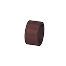 NAPKIN RING, BROWN COLOR, ACRYLIC, CASE/1 DOZ.