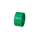 GREEN NAPKIN RING, ACRYLIC, CASE/1 DOZ.