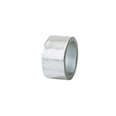 NAPKIN RING, SILVER COLOR, ACRYLIC, CASE/1 DOZ.