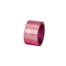 NAPKIN RING, PINK COLOR, ACRYLIC, CASE/1 DOZ.
