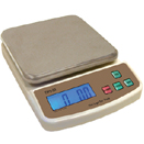 20 LBS PORTION SCALE, STAINLESS STEEL  PLATFORM, LCD DISPLAY