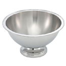 4.5 GALLON MULTI-PURPOSE PUNCH BOWL, STAINLESS STEEL
