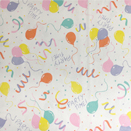 FLANNEL BACK TABLECLOTH, PARTY TIME, 54