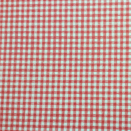 FLANNEL BACK TABLECLOTH, GINGHAM RED, 54