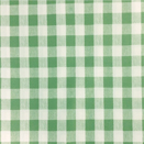 FLANNEL BACK TABLECLOTH, CHESS CHECK GREEN, 54