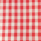 COMMERCIAL GRADE TABLECLOTH WITH NON-WOVEN PP BACKING, CHESS CHECK RED, 54