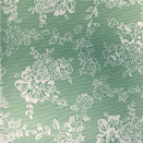 FLANNEL BACK TABLECLOTH, GREEN LACE, 54