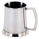 TANKARDS, 20 OZ., STAINLESS STEEL