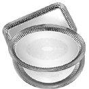 ESQUIRE™ TRAYS, EMBOSSED CENTER, 18/8 STAINLESS