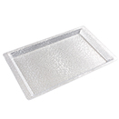 SILVER ACRYLIC DISPLAY TRAY, 20.75