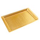 GOLD ACRYLIC DISPLAY TRAY, 20.75