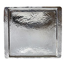 SQUARE TRAYS, HAMMERED, STAINLESS STEEL