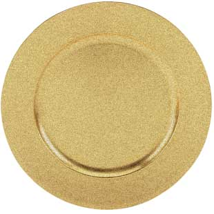 gold speckled charger 13 round acrylic online wholesale restaurant
