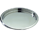 SERVING TRAYS WITH RAISED LIP, STAINLESS STEEL